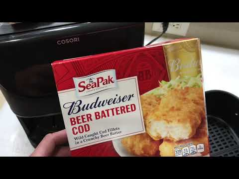 Budweiser Beer Battered Fish On The Air Fryer