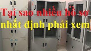 Tủ hồ sơ văn phòng Xuân Hòa| Tủ sắt 8 ngăn thách thức mọi tài liệu