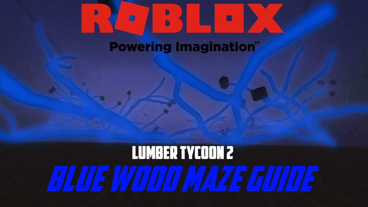 Blue Wood Maze Directions