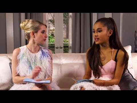 Ariana Grande & Emma Roberts Reveal Weird Celeb Crushes