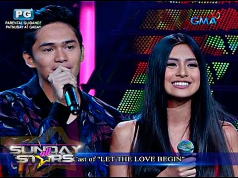'Let the Love Begin' cast live on 'SAS'