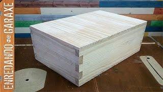 Cómo hacer un pequeño baúl de madera. P1 La caja