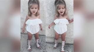 Little Girls Dresses - Little Girls Outfit Idea - Baby Girl Clothes - Little Girl Clothes 352