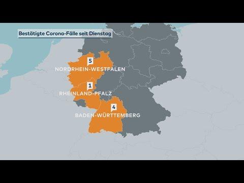 Coronavirus In Deutschland: Zehn Neue Infektionen Innerhalb Von 24 Stunden Bestätigt