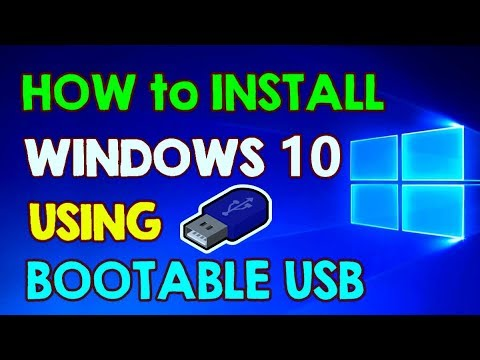 How to Install Windows 10 from Bootable USB Flash Drive on Windows 7