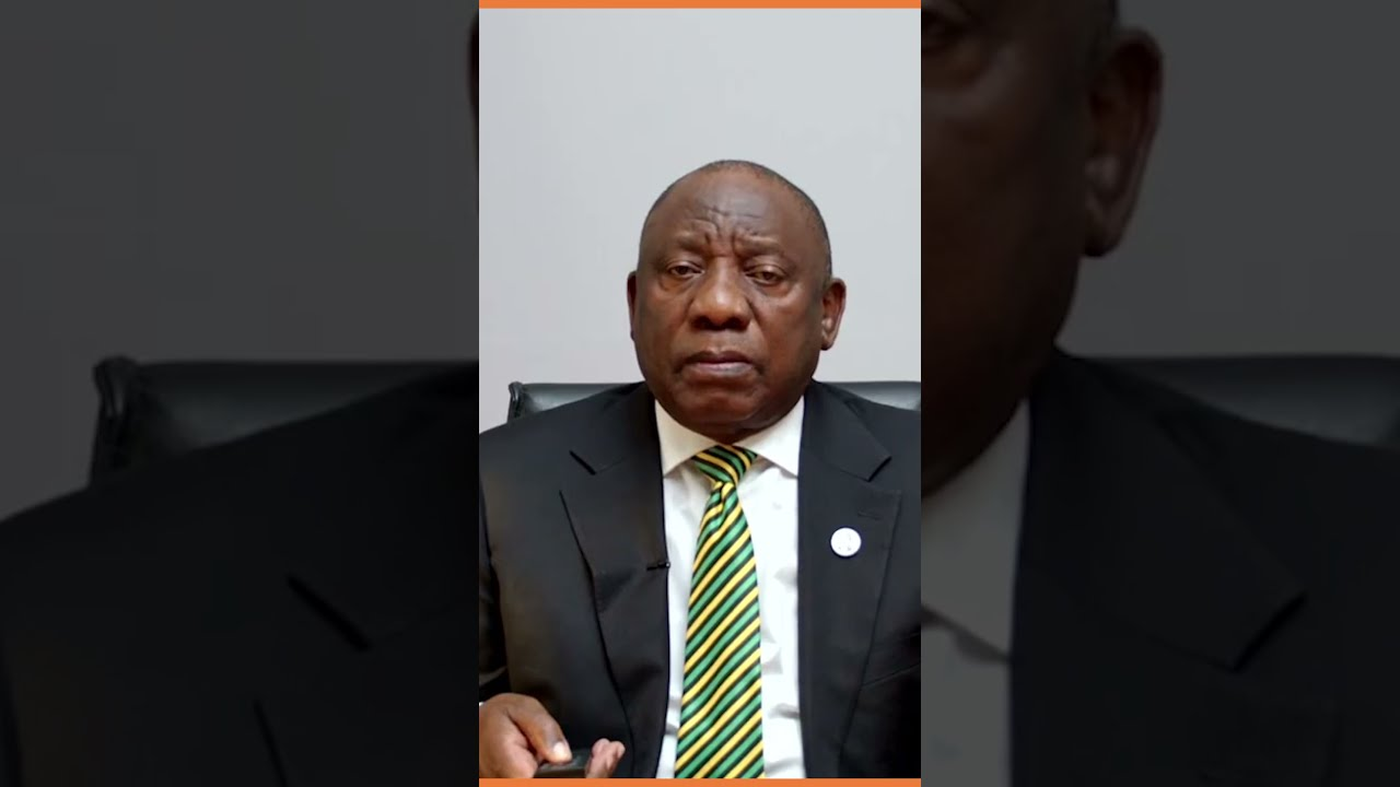 President Ramaphosa's Reaction on Zuma's release from Prison