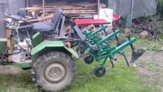 Remont ciągnika Sam  Repair Tractor