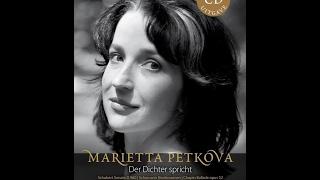 Marietta Petkova plays Schubert, live, Der Dichter spricht