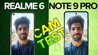 Redmi Note 9 Pro vs Realme 6 Camera Test - Realme STUNS Redmi!