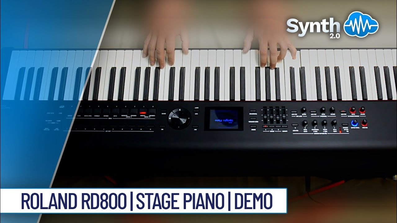 Roland rd 800 stage piano performed by s4k space4keys for Roland vs yamaha piano