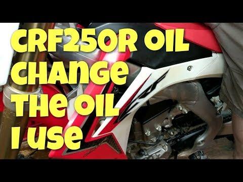 Honda CRF250R Oil Change