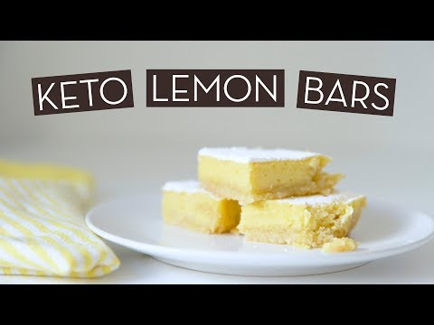 Insanely Tasty Keto Lemon Bar Recipe}