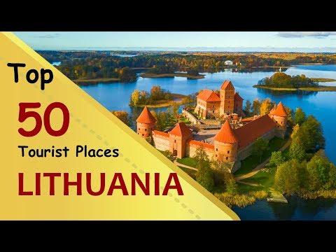 """LITHUANIA"" Top 50 Tourist Places | Lithuania Tourism"