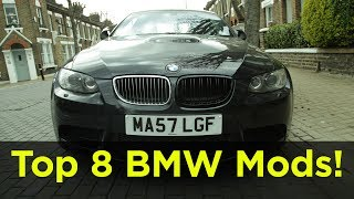 Top 8 cheap and easy first mods and customisations for any BMW   Road  Race S03E12