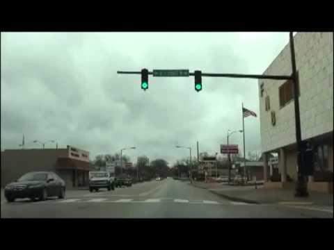 Sylacauga Alabama - A Rainy Day Drive