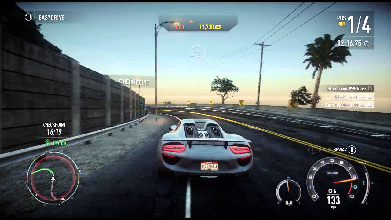 need for speed rivals porsche 918 spyder fully upgraded hot pursuit gameplay. Black Bedroom Furniture Sets. Home Design Ideas