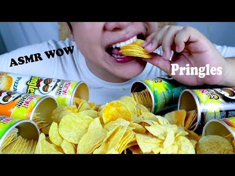ASMR Pringles | CRUNCHY Pringles 7 Flavor of Crisps | EATING SOUNDS | NO TALKING | ASMR NEK