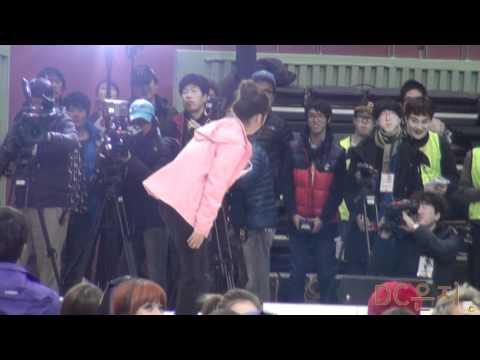 120108 idol sports: bomi - gorilla dance
