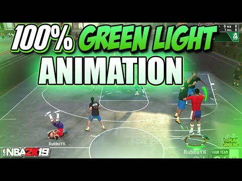HOW TO GET A GREEN LIGHT ANIMATION ON EVERY SHOT IN NBA 2K19 - 100% GURANTEED