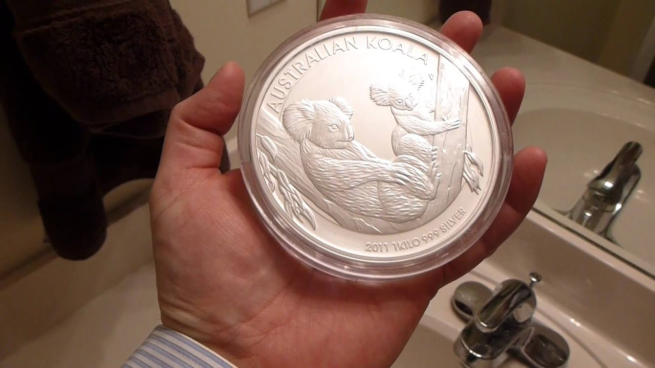 2011 Australian Perth Mint Koala 1 Kilo 32 15 Ounces
