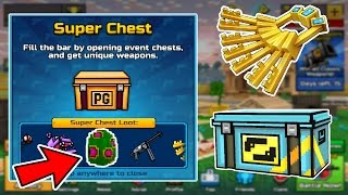 Opening 50+ New Super Chests - Pixel Gun 3D