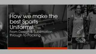 Game Clothing - Sublimated Sports Uniforms Process