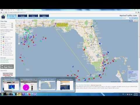 Boating World Destin Sunrise Marine Run Across the Gulf Adventure.avi