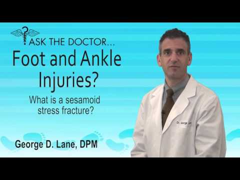What Is A Sesamoid Stress Fracture? Midlothian, Powhatan,  VA - Podiatrist George Lane,