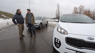 Что круче? Kia Sportage VS Volkswagen Tiguan   Выбор есть!