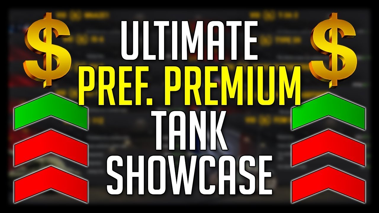 premium tanks with preferred matchmaking
