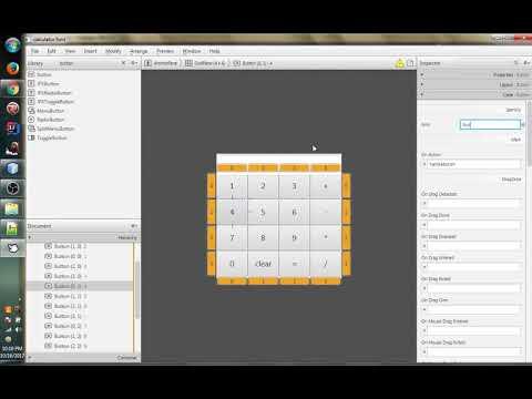 Simple java fx maven Calculator using Netbeans with Scene Builder