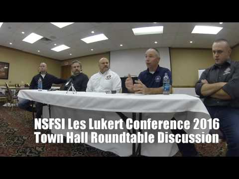 NSFSI LES LUKERT 2016 TOWN HALL ROUND TABLE DISCUSSION