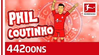 Philippe coutinho - fc bayern's new star! ► sub now: https://redirect.bundesliga.com/_bwcs he is the star in bundesliga and has now been officially i...