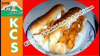 Bar.B.Q Chiken Burger by king shahid jutt
