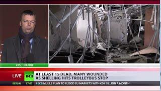 OSCE Ukraine Monitoring Mission chief updates RT on Donetsk atrocity aftermath