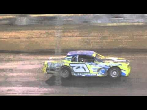 Ark La tex speedway factory stock heat race 10 cajun classic 2015 round 1
