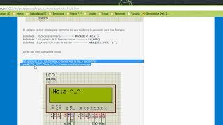 Practica de LCD con PIC-C y ISIS Proteus