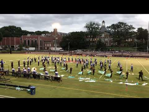 PCTI Marching Band performing at Ridgewood HS on Sept 21