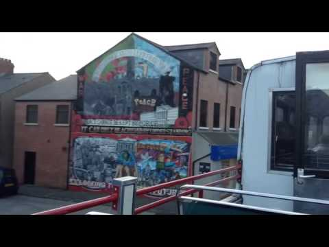 Video: A Belfast bus tour is not only for visitors to the city