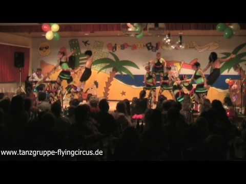 """Wir feiern am Ballermann - Showtanzgruppe """"The Flying Circus""""- 2012"""