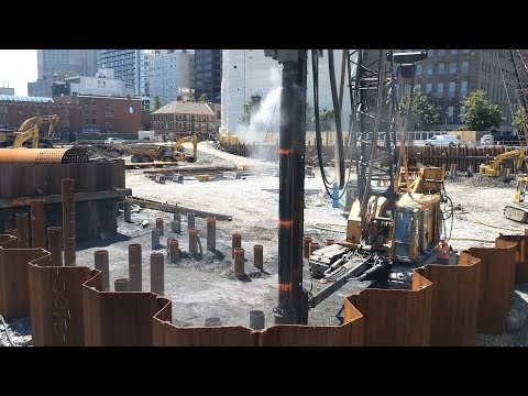 halifax s queen s marque construction july 5 2017 youtube