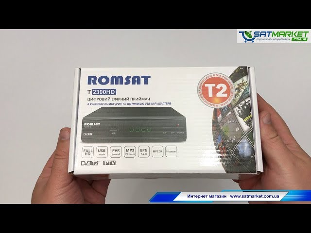 Видео обзор Romsat T2300HD