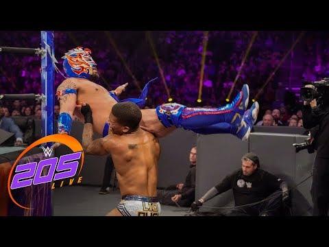 Kalisto vs. Lio Rush: WWE 205 Live, Jan. 2, 2019