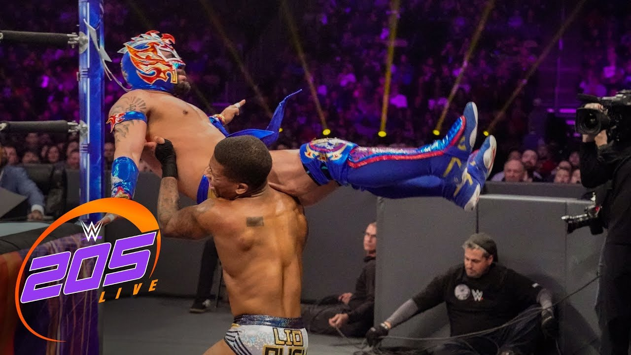 Kalisto vs. Lio Rush: WWE 205 Live, Jan. 2, 2019