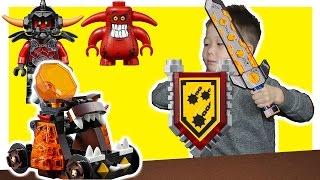 НЕКСО НАЙТС РЫЦАРИ NEXO KNIGHTS 70311 Катапульта Хаоса Аналог Лего | Игрушки для Детей