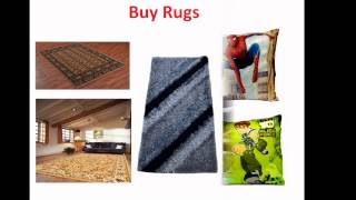 Buy Curtains Rugs Bed Sheets Wallpaper Online In India