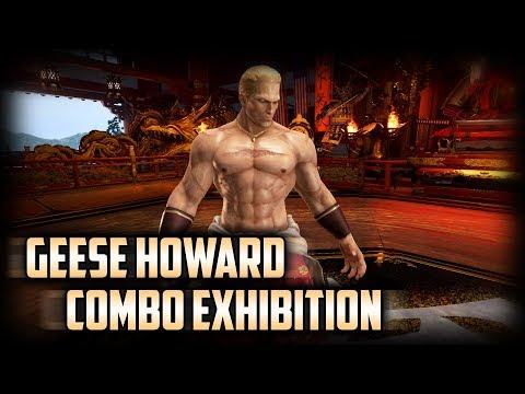 TEKKEN 7 | Geese Howard Combo Exhibition