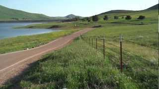Success Lake Porterville California (panning video 01)