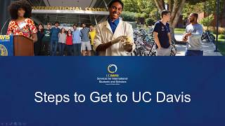 Steps to get to UC Davis thumbnail