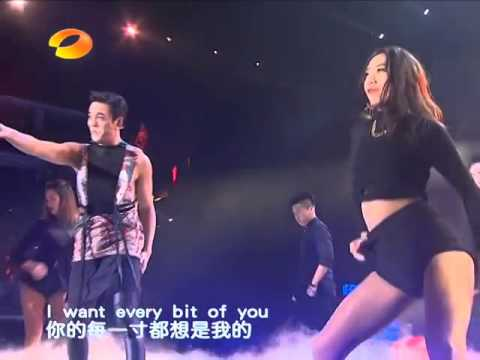 """[31.12.14] William Chan @ """"Queen"""" - Hunan TV New Year's Eve"""